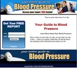 Thumbnail Blood Pressure Squeeze Page Template