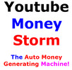 Thumbnail Youtube Money Storm