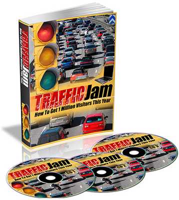 Product picture Traffic Jam - How To Get 1 Million Visitors This Year