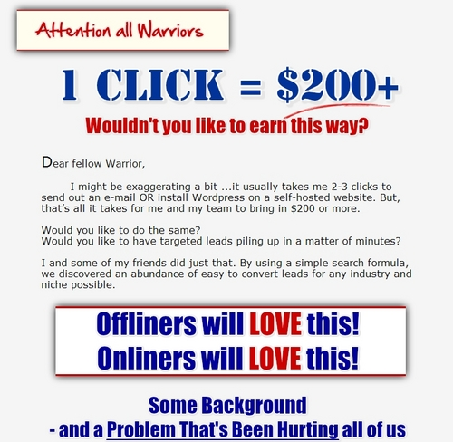 Product picture $5000 IN FIRST WEEK 1SEARCH + 3CLICKS = $200+ NO experience